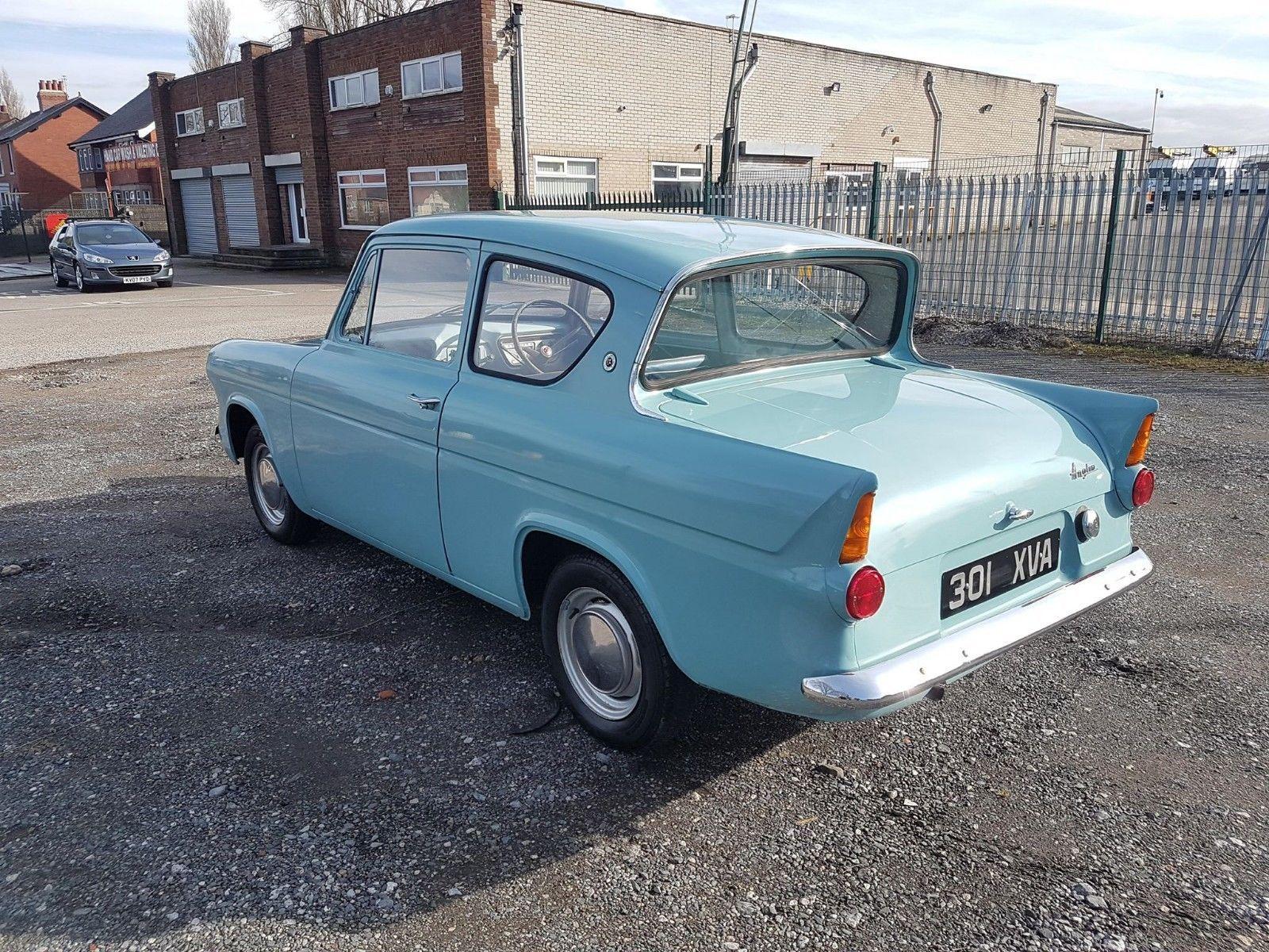 Ebay Ford Anglia Basic Model 1960 Ford Anglia Classic Cars British Cars
