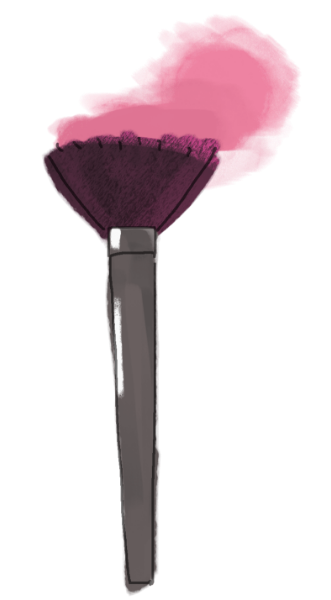 Free Online Clip Art Illustration And Sticker For Graphic Designs Cosmetics Makeup Brush In Beauty Makeup Clipart Makeup Poster Makeup Wall Art