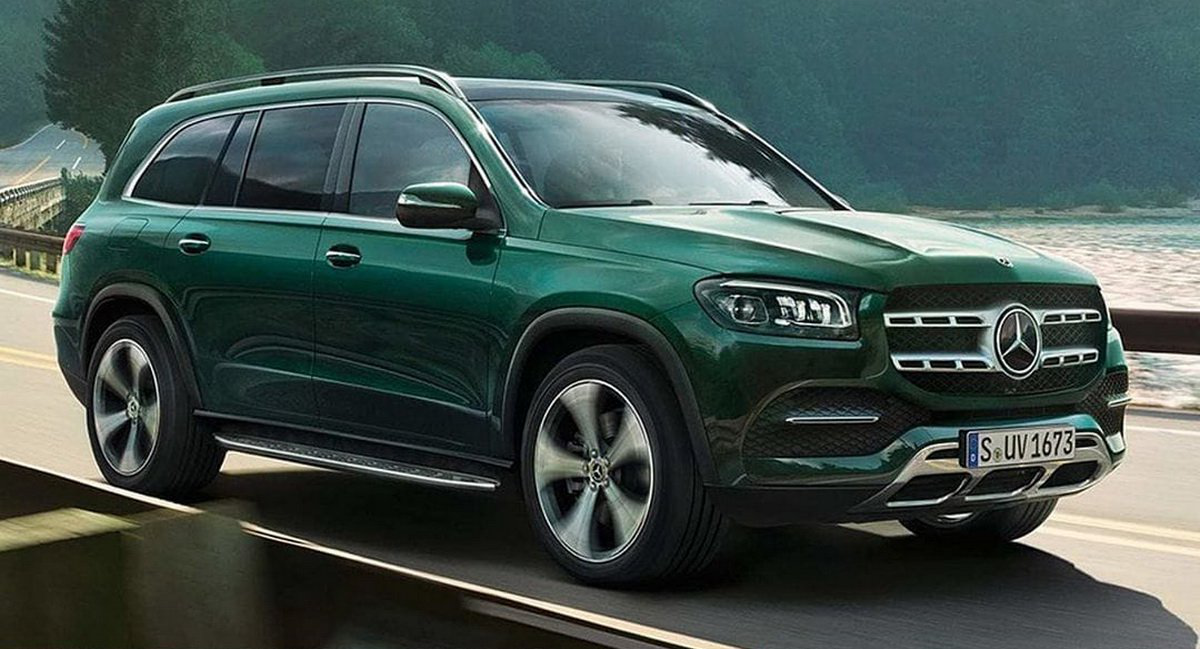 2020 Mercedes Gls First Photos Of New Full Size Suv Coming For