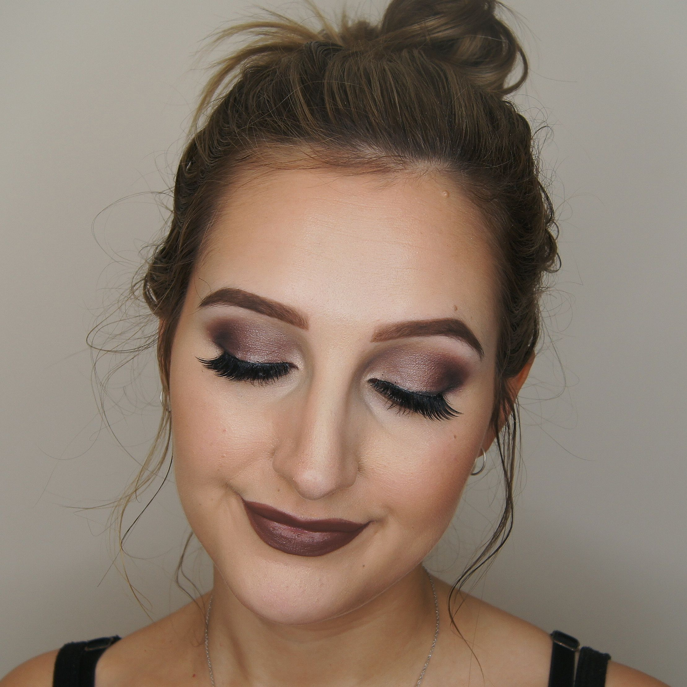 1b07dc52315 Makeup Geek Eyeshadows in Beaches and Cream and Prom Night. Look by: Kayla  Matisi