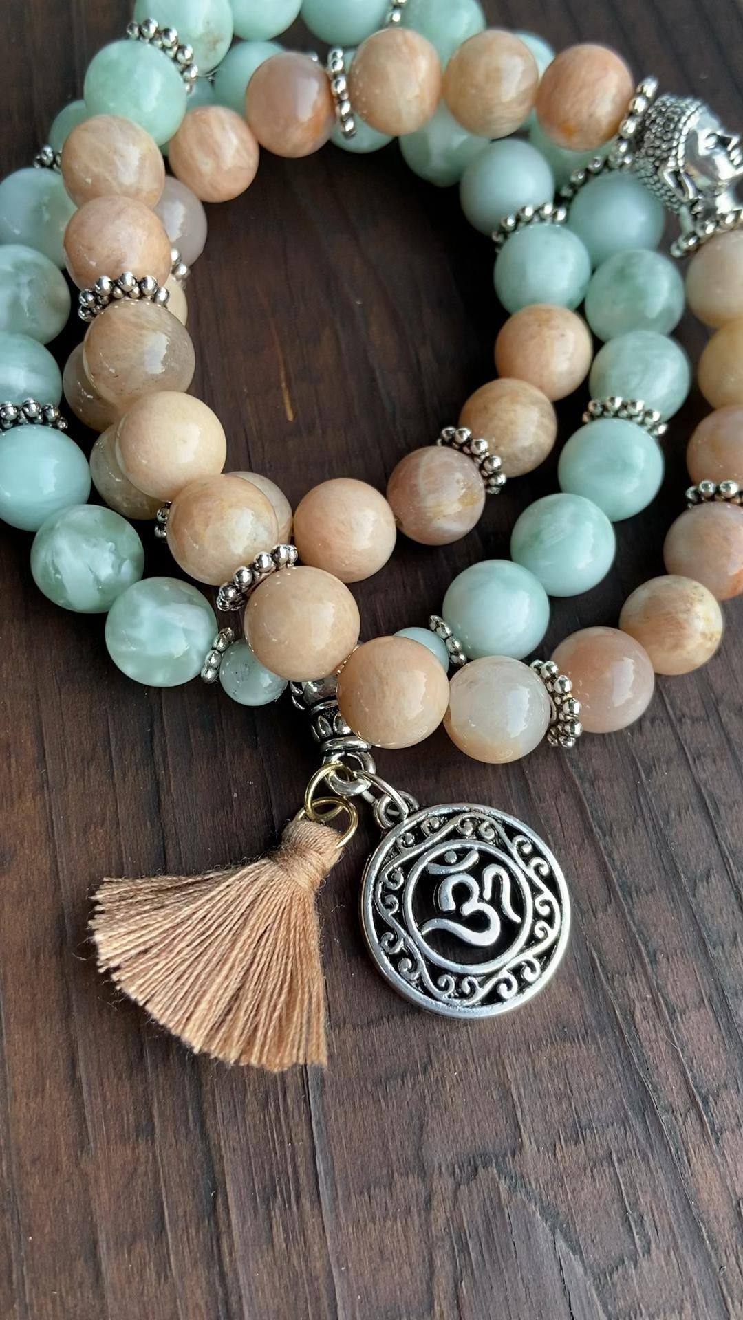 Photo of New Moonstone gemstone bracelet Malas