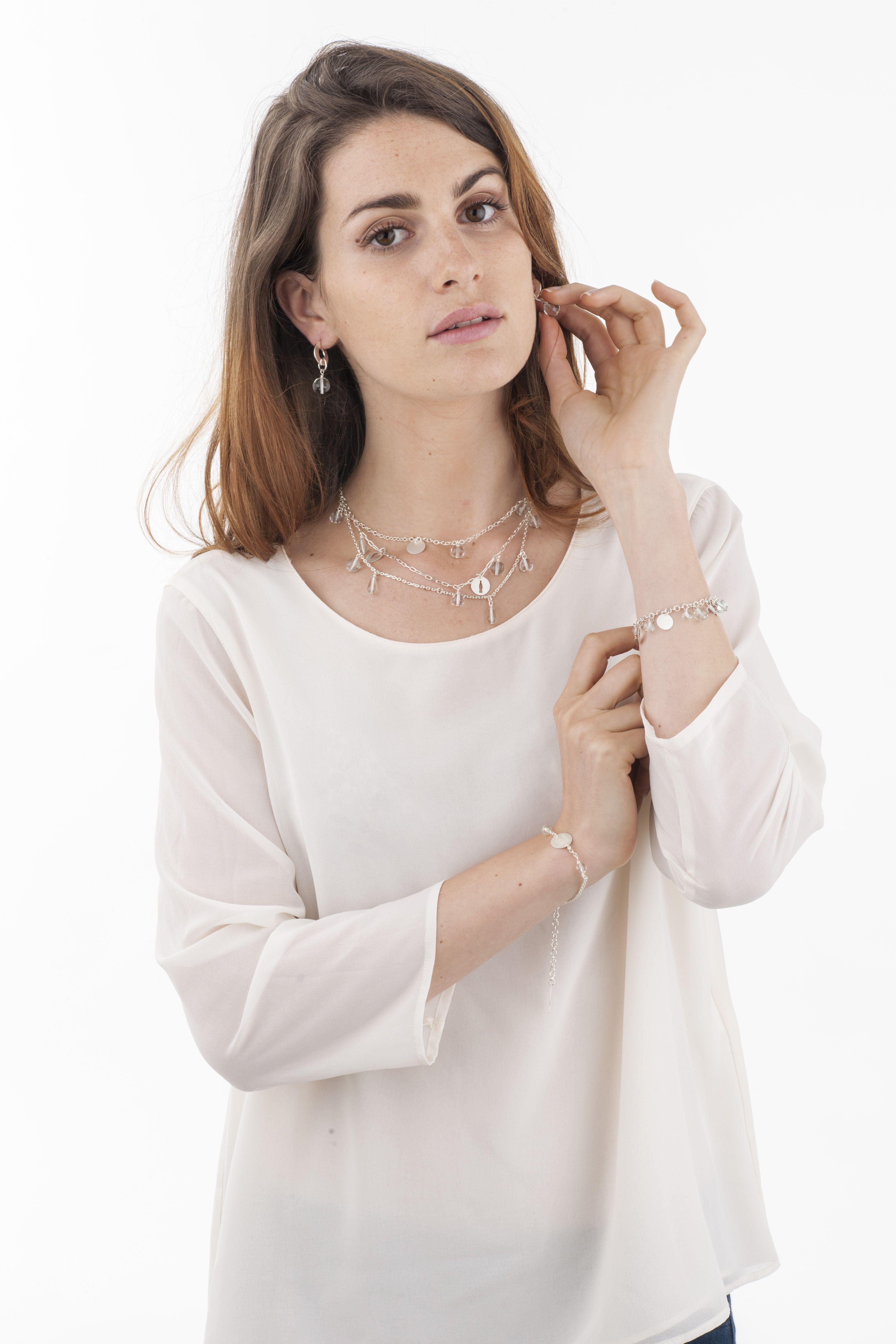 """La gamme """"Eco-glam"""" en Finitions argent"""