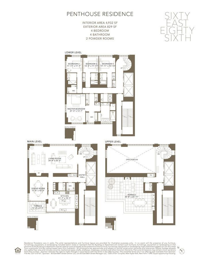 Thomas Juul Hansen S 15 Condos For 86th Street Revealed Apartment Floor Plans Floor Plans City Living Apartment