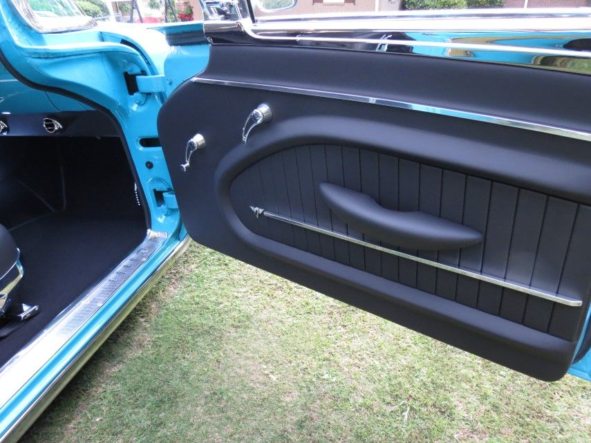 1958 Ford Fairlane Custom Leather Interior