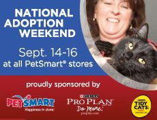 Petsmart Charities National Adoption Weekend September 14 16 Charity Petsmart Adoption