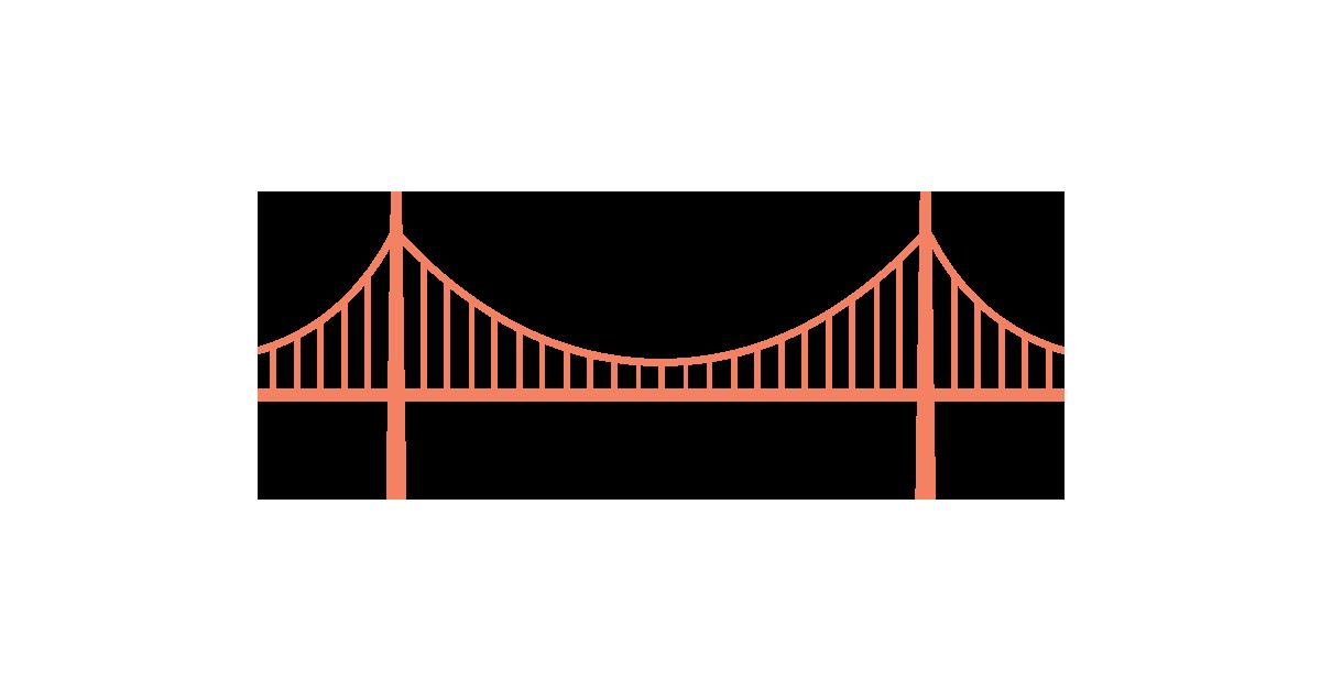 33++ Golden gate bridge outline clipart ideas