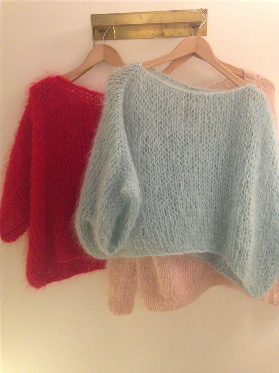 Le pull je suis à l'aise au tricot | La Grenouille Tricote – Knitting
