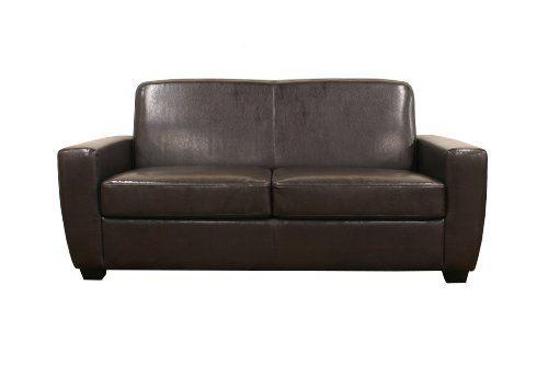Best Baxton Studio Broome Modern Sofa Sleeper Dark Brown 640 x 480