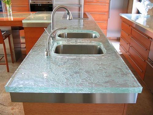 Placement Of Kitchen Sink In Countertop Glass Kitchen Kitchen
