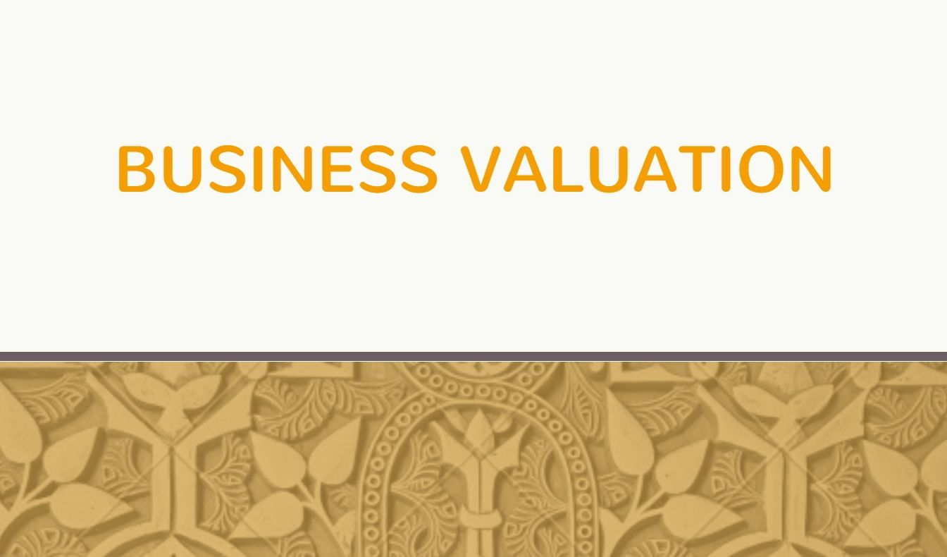 Business Valuation  WhatS Your Business Value Valuation
