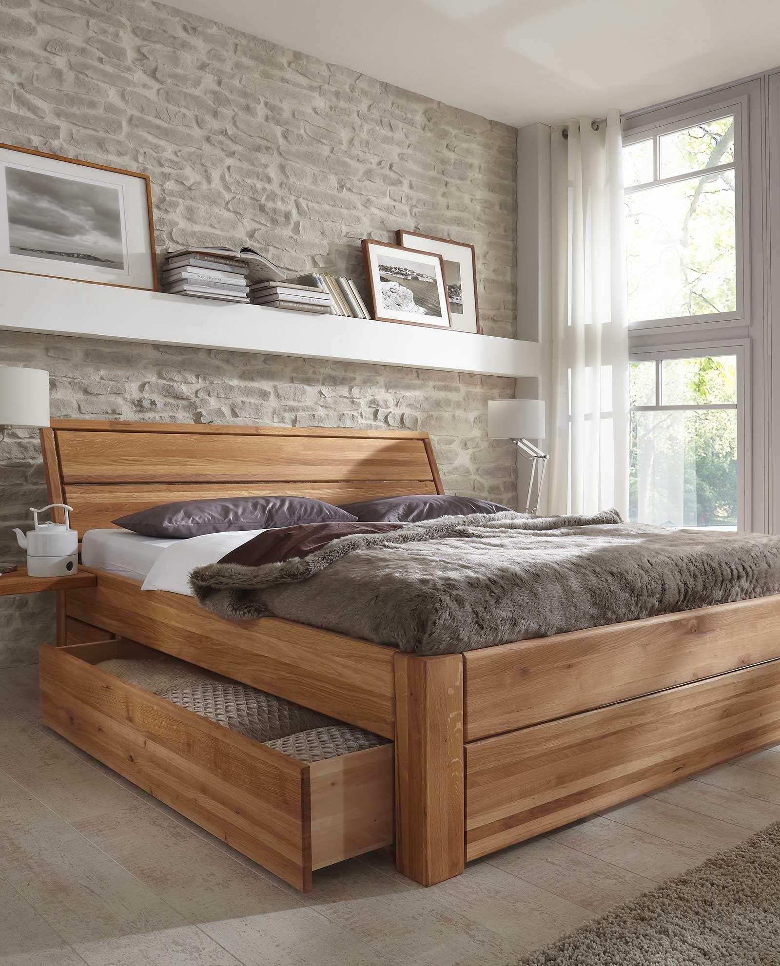 Seng Med Skuff Plataform Bed Decoracao De Casa Rustica Cabeceira De Cama Casal