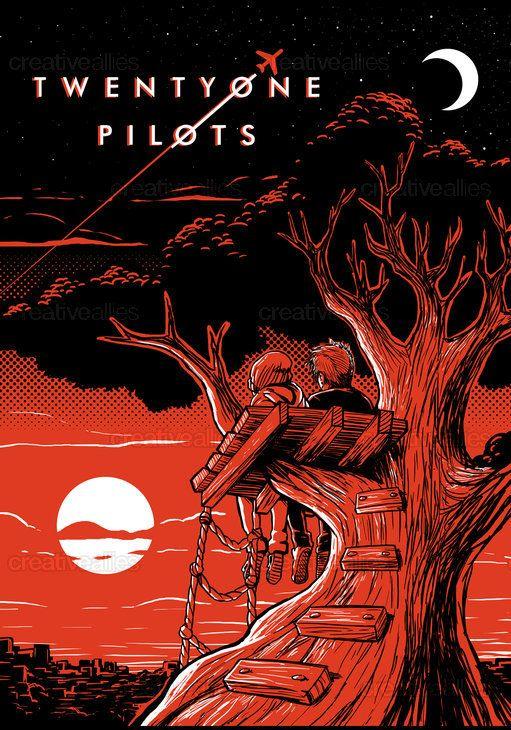 21 Pilots Fonds Decran: X @killerflowers X