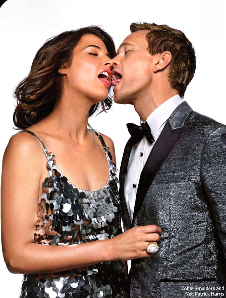 Cobie Smulders And Neil Patrick Harris Kiss 968full-how-i-met-your-mother- ...