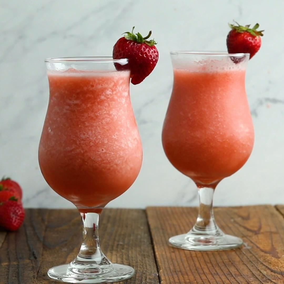Frozen Strawberry Lemonade Recipe by Tasty