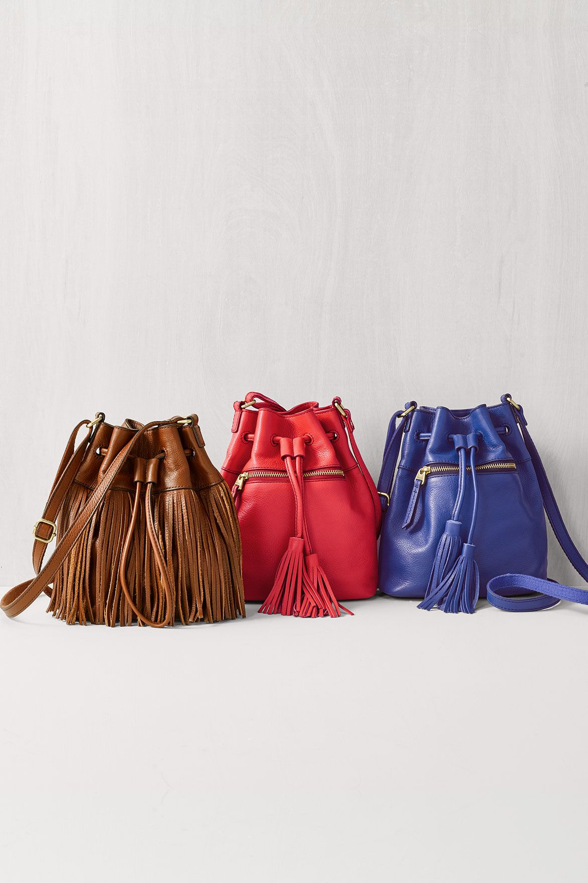 Eenie meenie miney mo; the mini Jules fringe crossbody is too cute ...