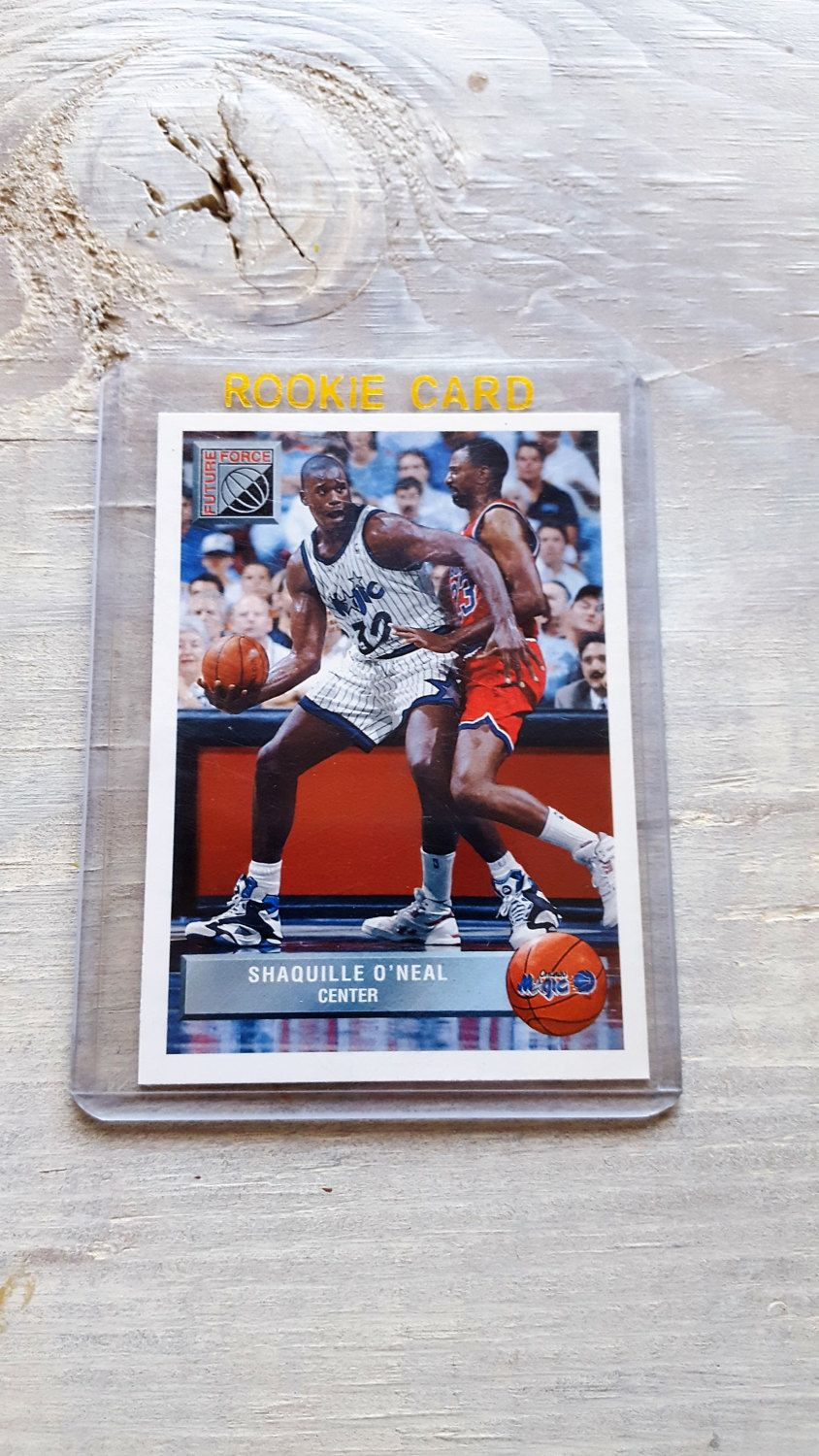 Shaq Topps Rookie Card Shaquille Oneal Los Angeles