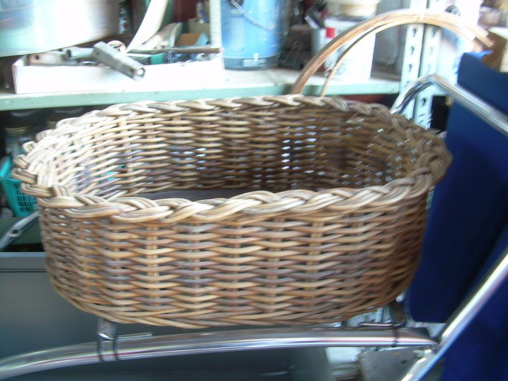 Wicker Dog Bed = sturdy Country French = cat dogs pets