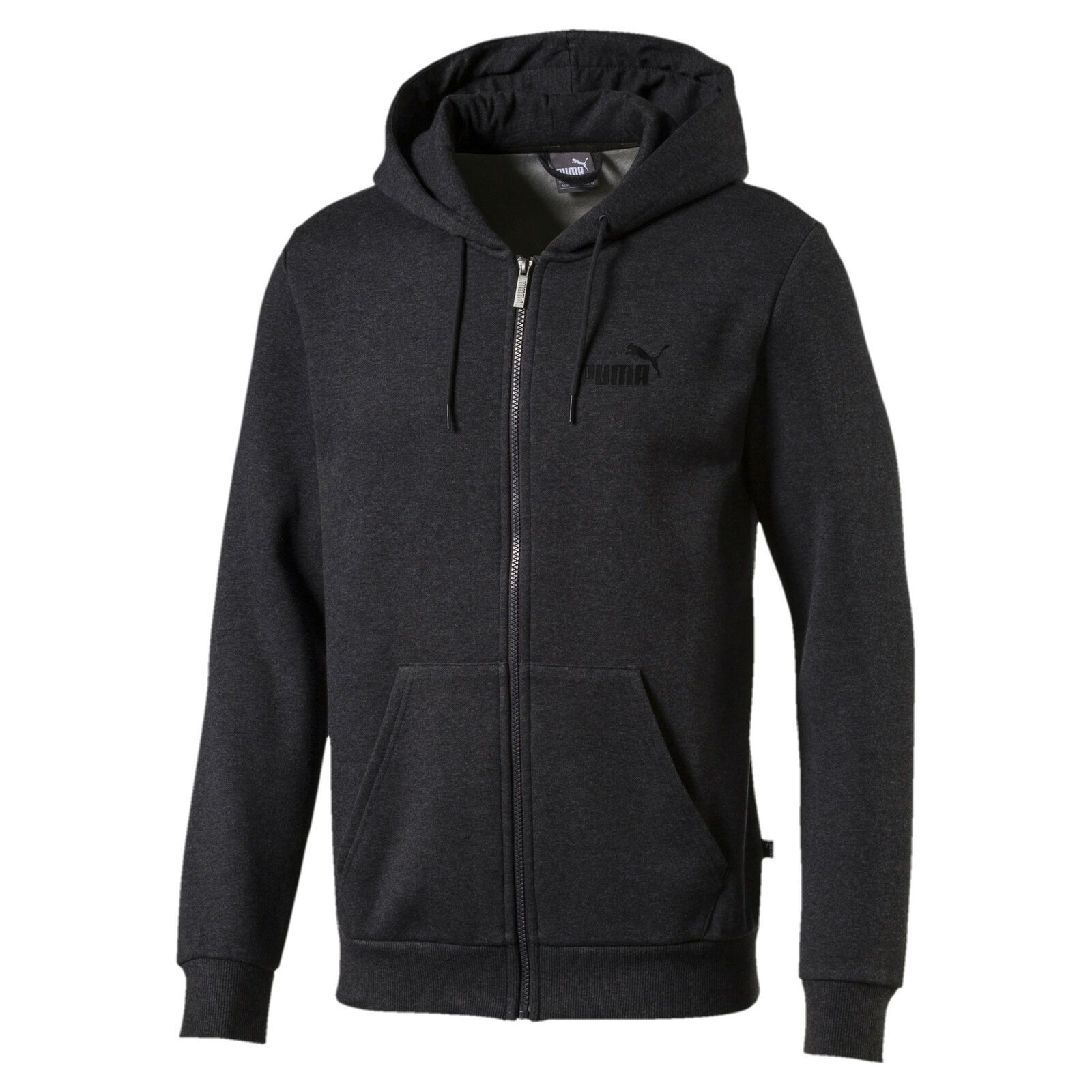 PUMA Essentials+ Men's Fleece Hooded Jacket Men Sweat Basics