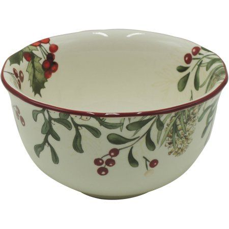 Better Homes and Gardens Heritage Berry Bowl, Set of 6 - Walmart.com ...