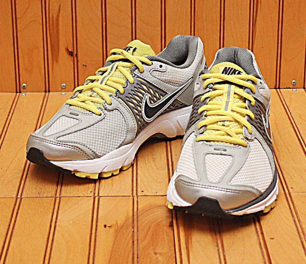 Babosa de mar distorsión Lujoso  2011 Nike Zoom Vomero + 6 Size 7 - Silver White Grey Yellow Black - 443809  107   Clothing, Shoes & Accessories, Women's Shoes, At…   Nike, Grey yellow,  Yellow black