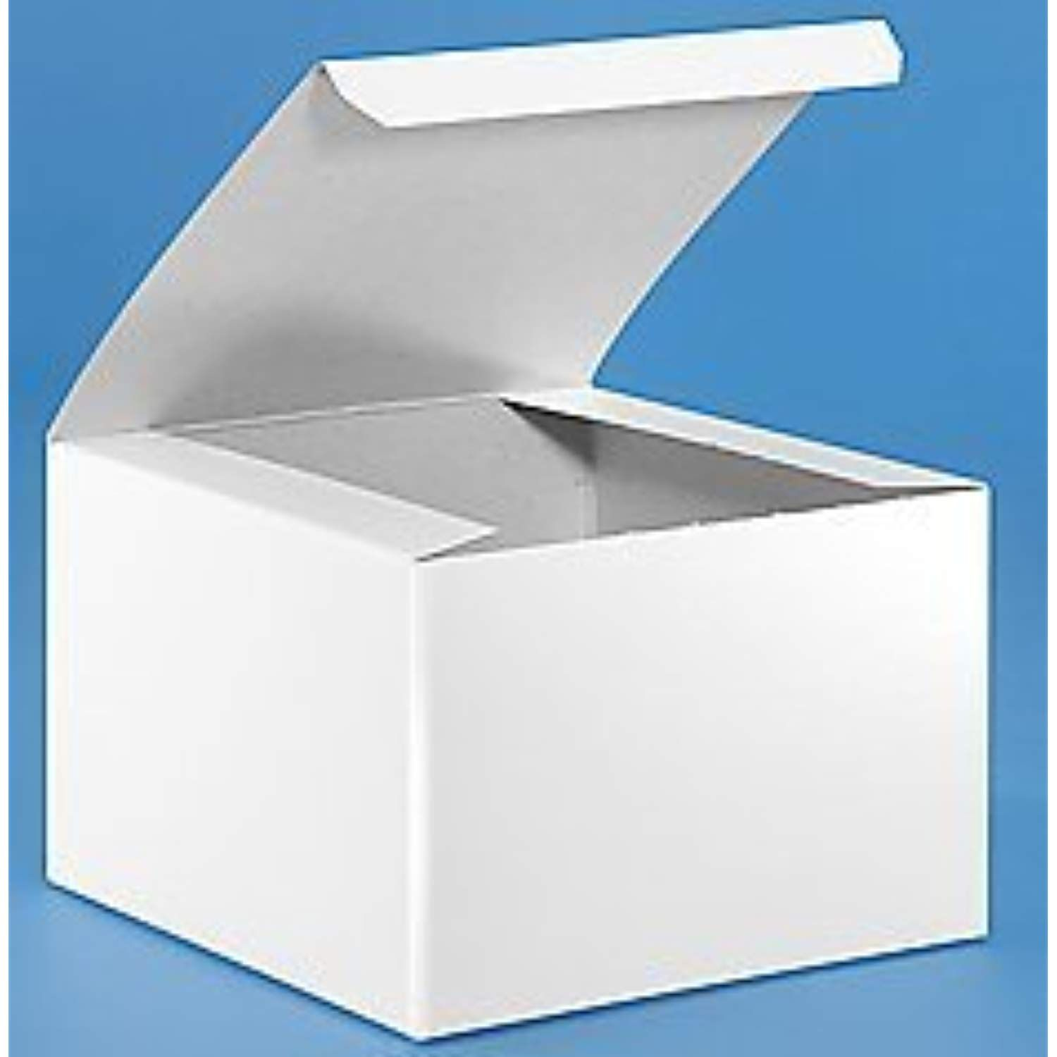 6 X 6 X 4 White Gloss Gift Boxes Pack Of 10 Click On The Image For Additional Details This Is An Affiliate Link Gift Cake Easy Gifts Gift Box