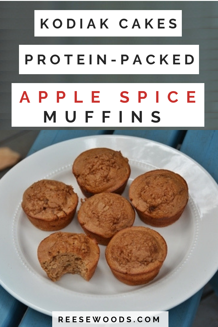 Protein Packed Kodiak Apple Spice Muffins With Images Kodiak Cakes Protein Healthy Muffin Recipes Kodiak Cakes