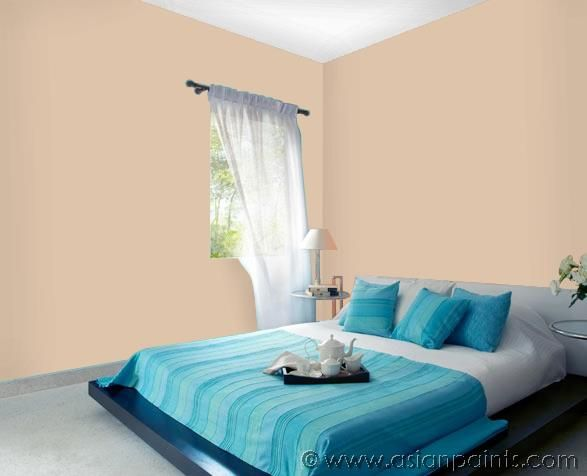 Bedroom Calamine Home Wall Painting Asian Paints House Painting