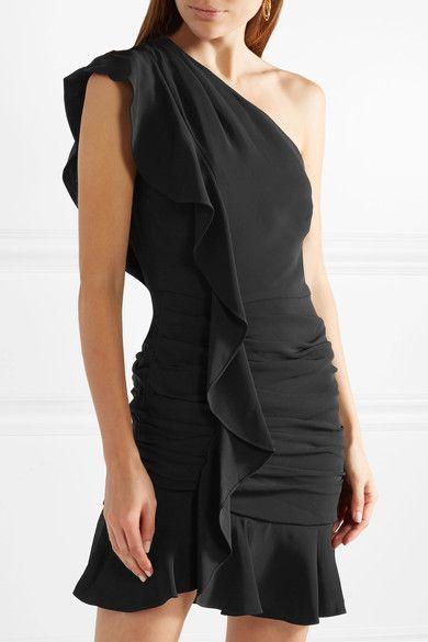 Robe asymetrique one shoulder