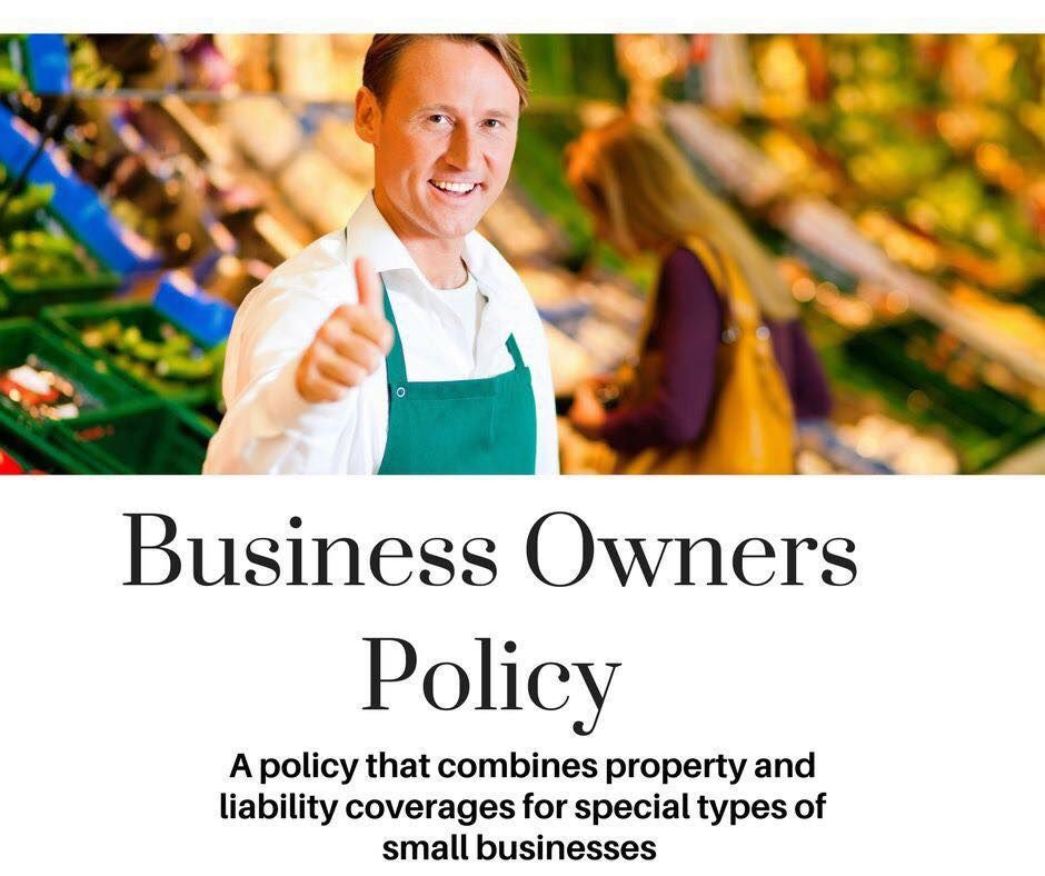 What Is Bop Or Business Owners Policy Commercial Insurance