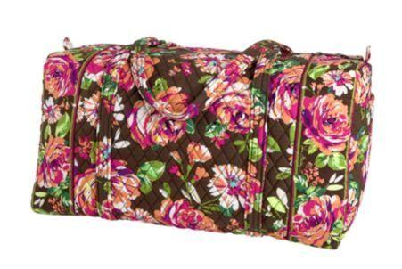 3304a8599f Vera Bradley Large Duffel (English Rose)
