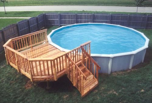 Above Ground Pool Landscaping Google Search Pool Deck Plans Above Ground Pool Landscaping Above Ground Pool Decks