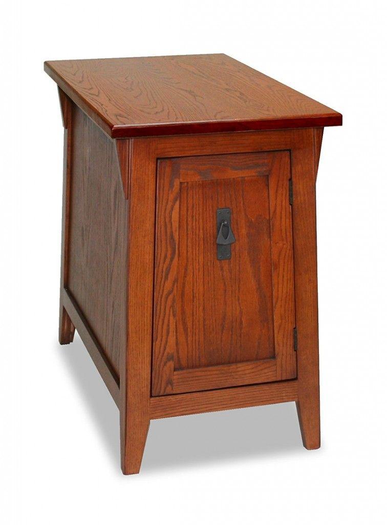 Solid Oak End Tables