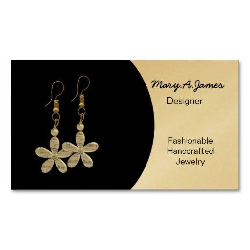 Jewelry Business Cards Jewelry Jewelry Design Business