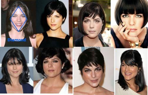 Best Hairstyles For Your Face Shape Diamond Face Shape