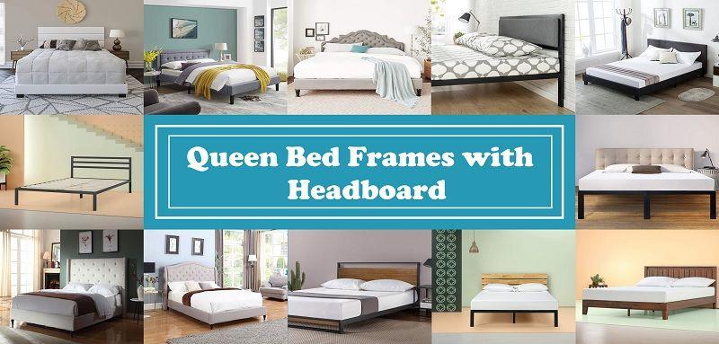 Best Queen Bed Frames With Headboard 2020 Top Picks And Reviews In 2020 Bed Frame And Headboard Bed Frame Queen Bed Frame