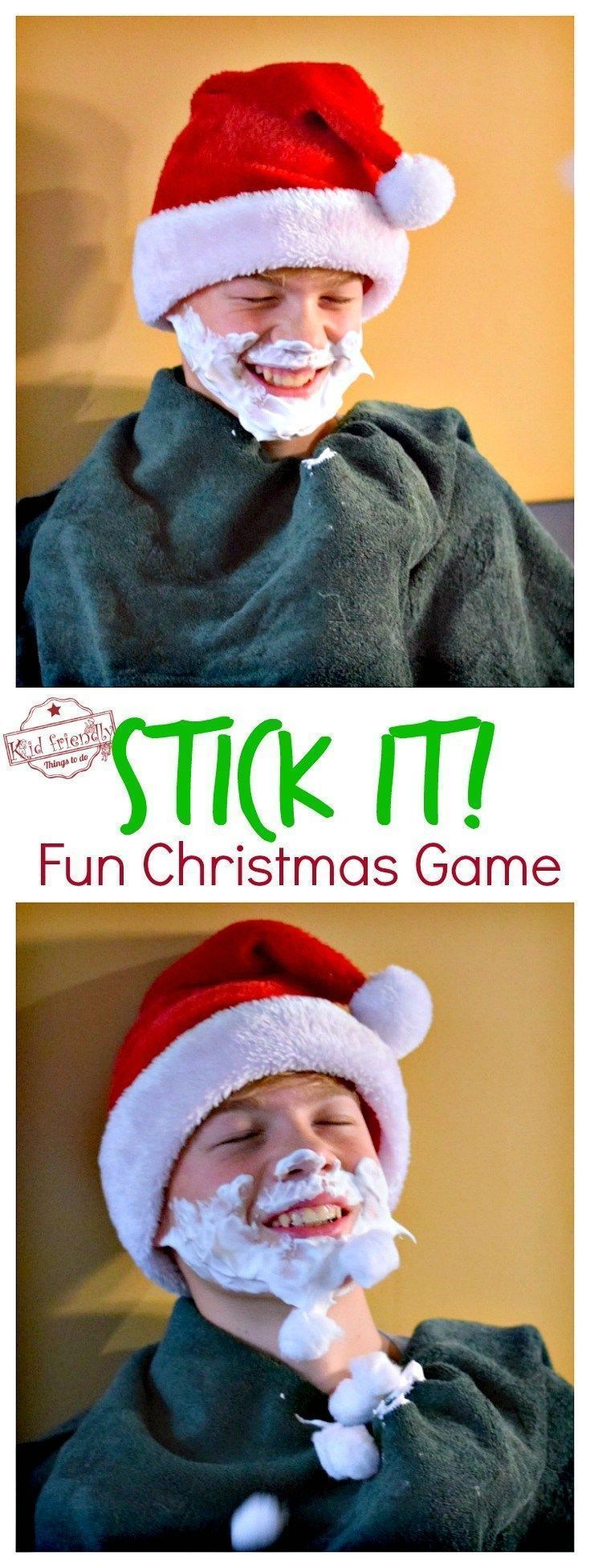 Stick It! A Fun, Cheap and Easy Christmas Game to Play