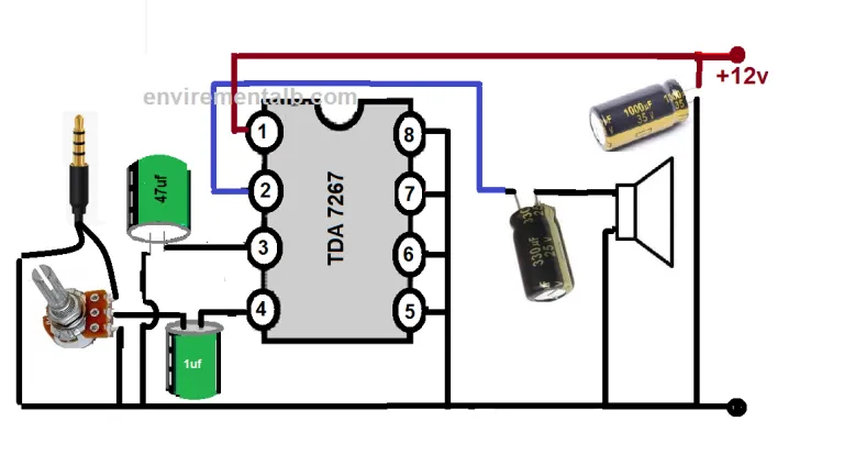 Low Power Audio Amplifier Circuits (With images) Audio