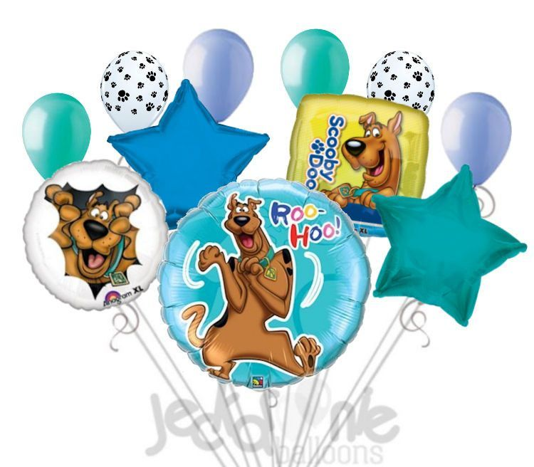 Scooby Doo Roo Hoo Balloon Bouquet Birthdays and Birthday party ideas