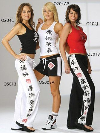 womens otomix o5013 martial arts workout pant  martial