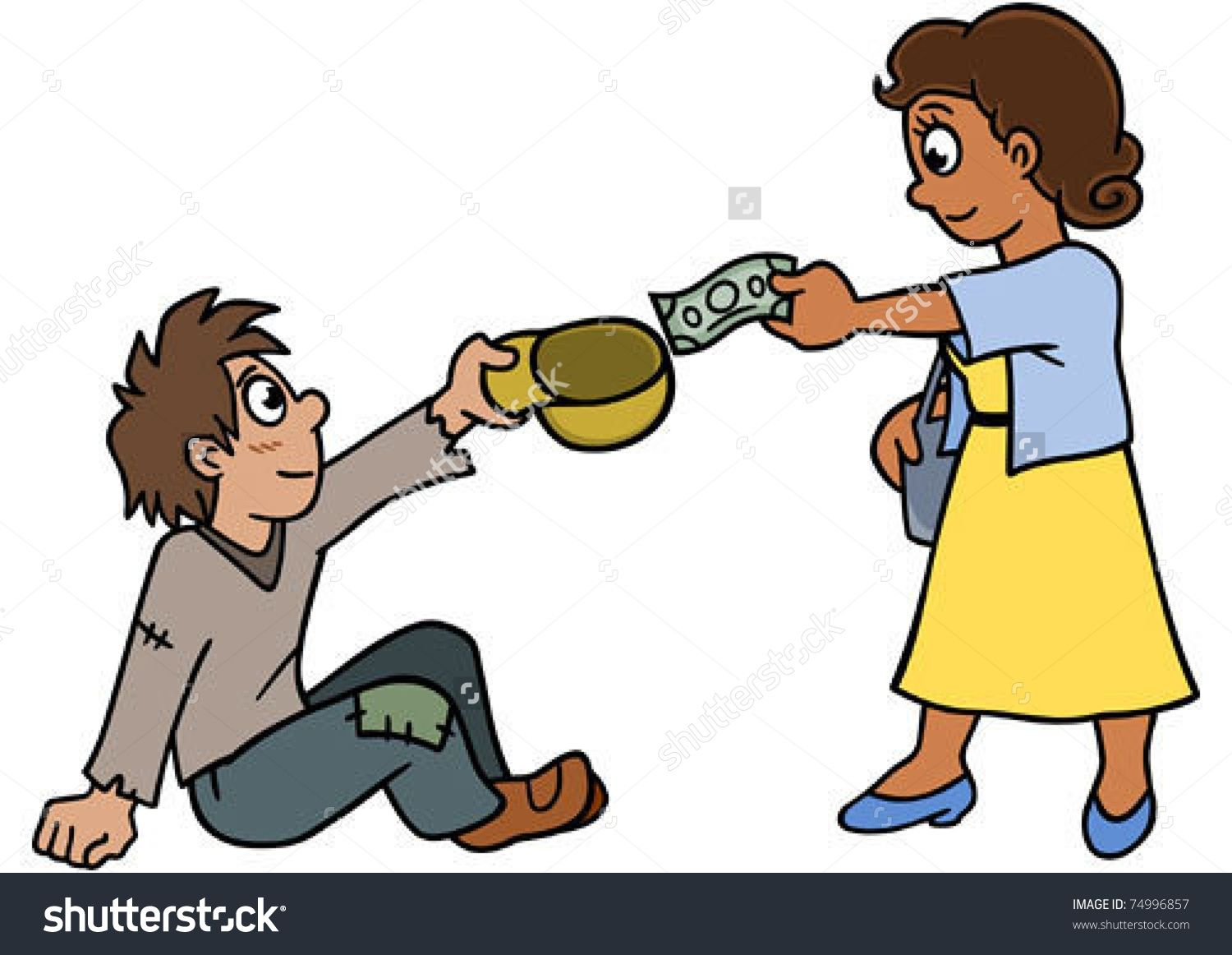 image result for helping the needy | divya | helping others, clip art