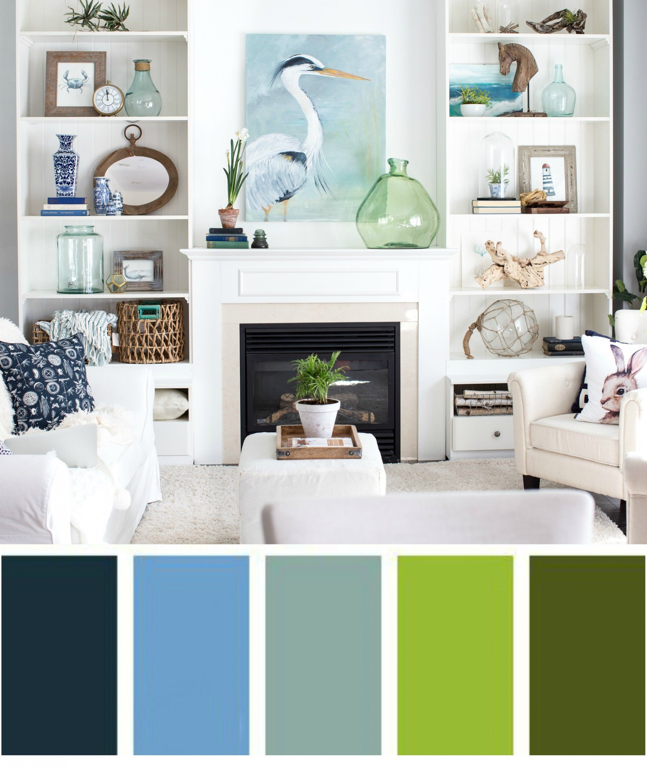 Küche interieur farbschemata  reasons why your home does not look cohesive  beach cottage style