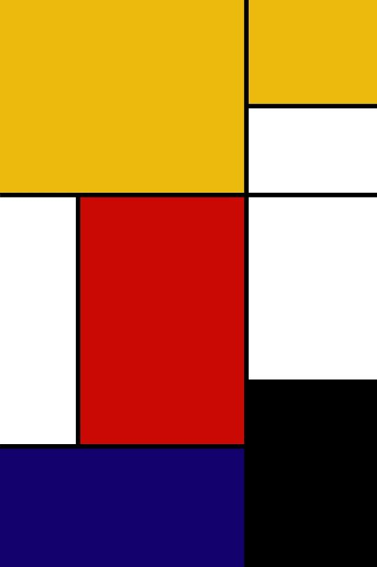 Piet mondriaan iphone wallpaper