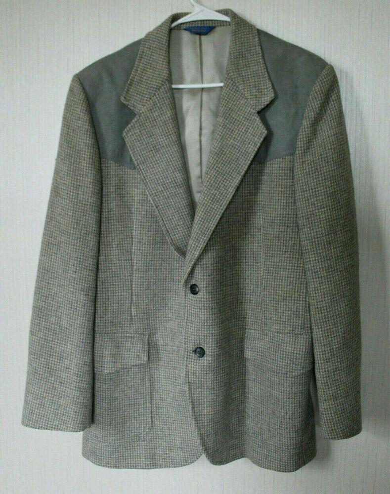 42R Mens Western Wear Cowboy Sport Coat Blazer Jacket