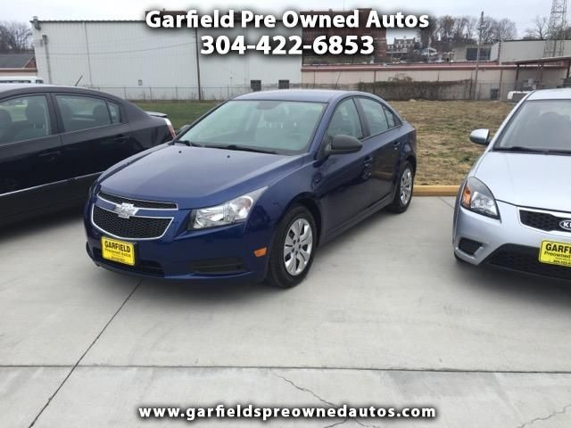Buy Here Pay Here 2013 Chevrolet Cruze For Sale In Parkersburg Wv