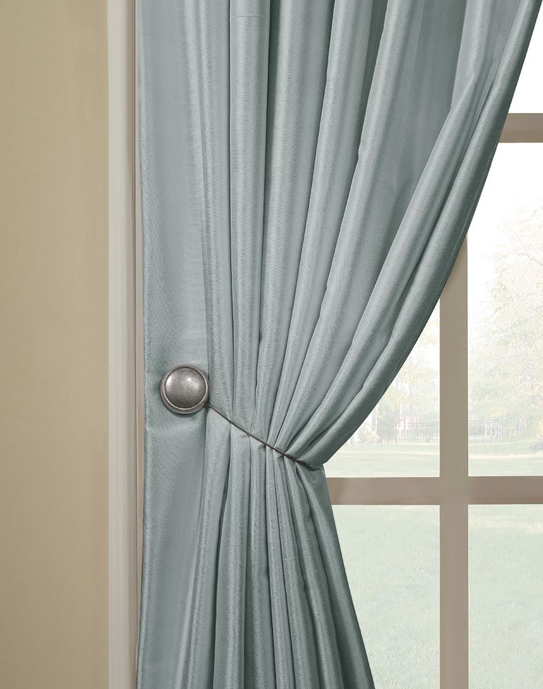 Magnetic Tieback Pair / Curtainworks.com | new apt | Pinterest ...