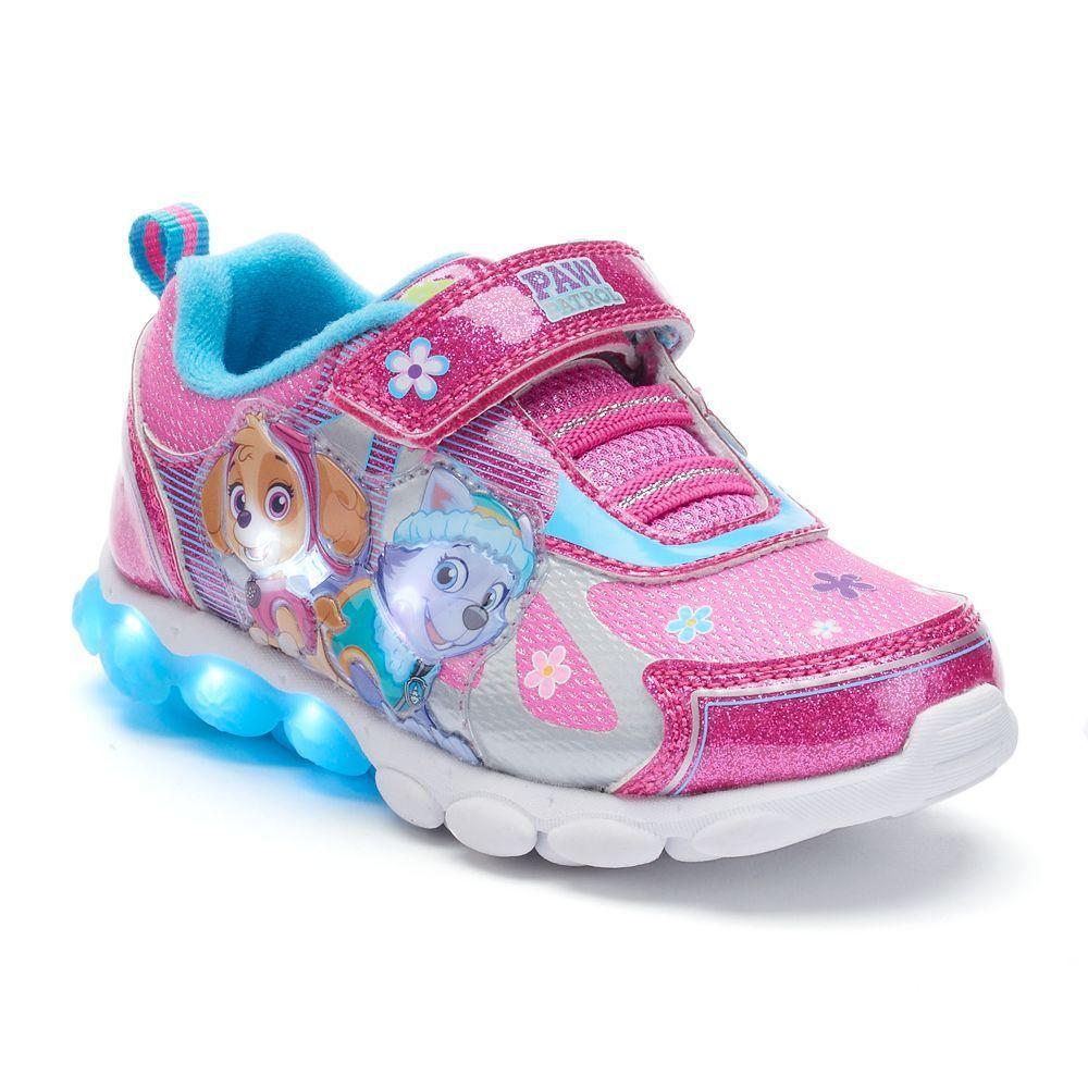 ded2a4800bfb03 Paw Patrol Skye   Everest Toddler Girls  Light-Up Shoes