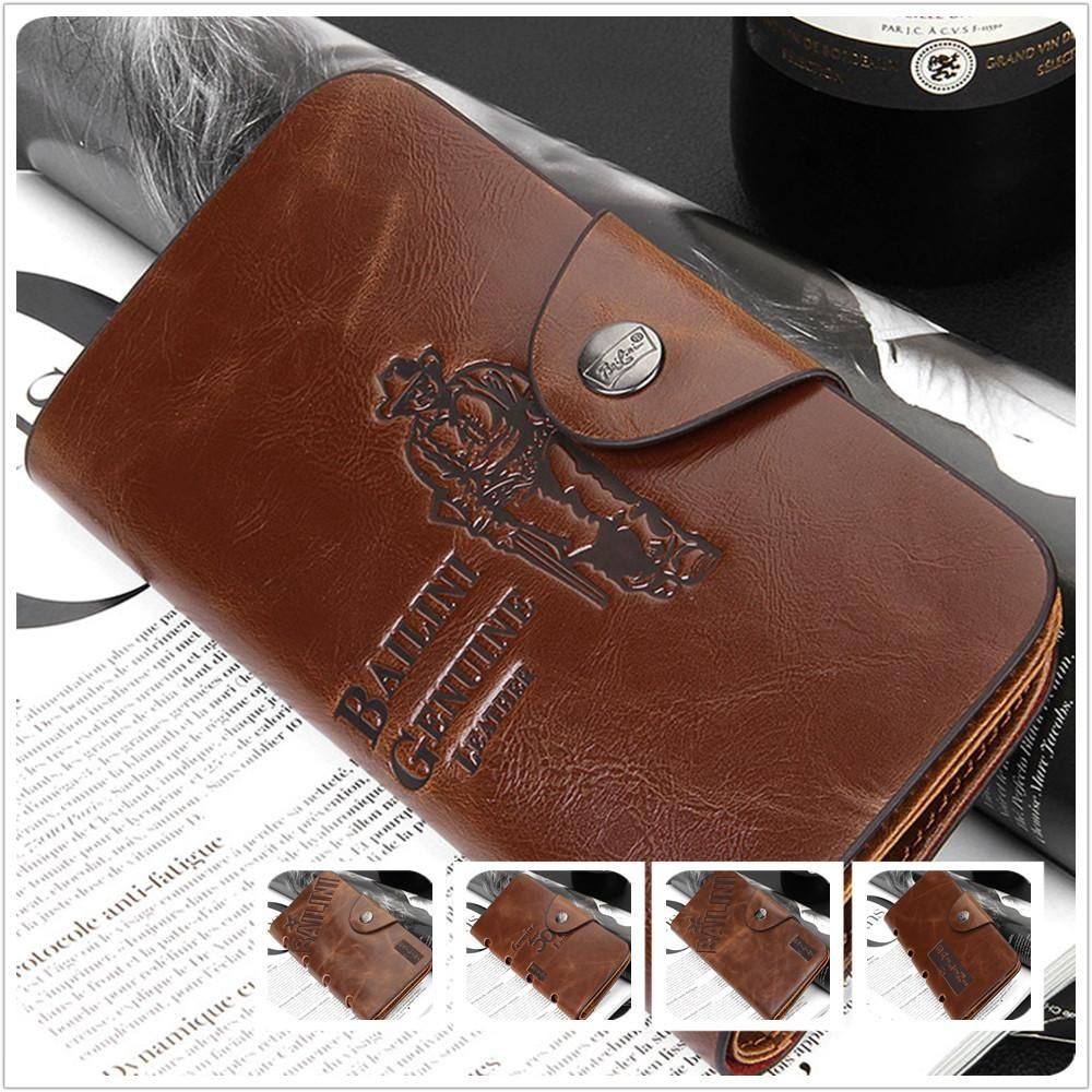 Special Promotion New Men's Vintage Wallet Fine Bifold Brown Genuine Leather & Pu Purse Wallets For Men W007 Online with $23.47/Piece on Huanqiu_a's Store | DHgate.com