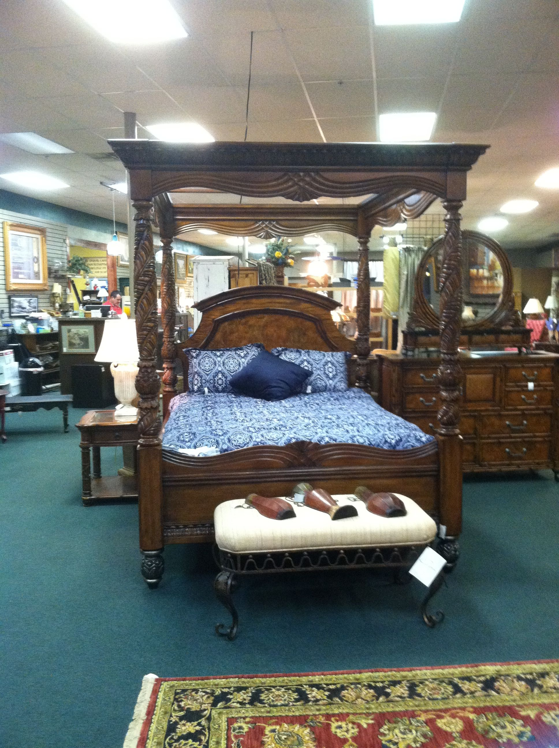 Best American Signature Canopy Bed American Signature 400 x 300