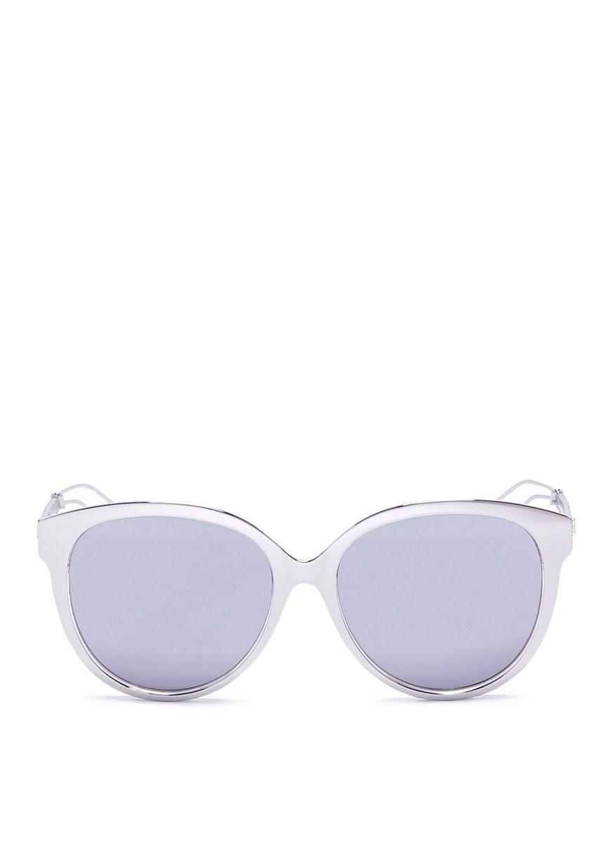 eed8a448fff5 DIOR  Diorama 2  metal openwork temple acetate mirror sunglasses.  dior   sunglasses