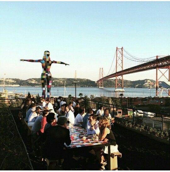 Terraço em Lisboa